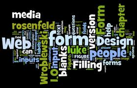 Web Form Design Wordle